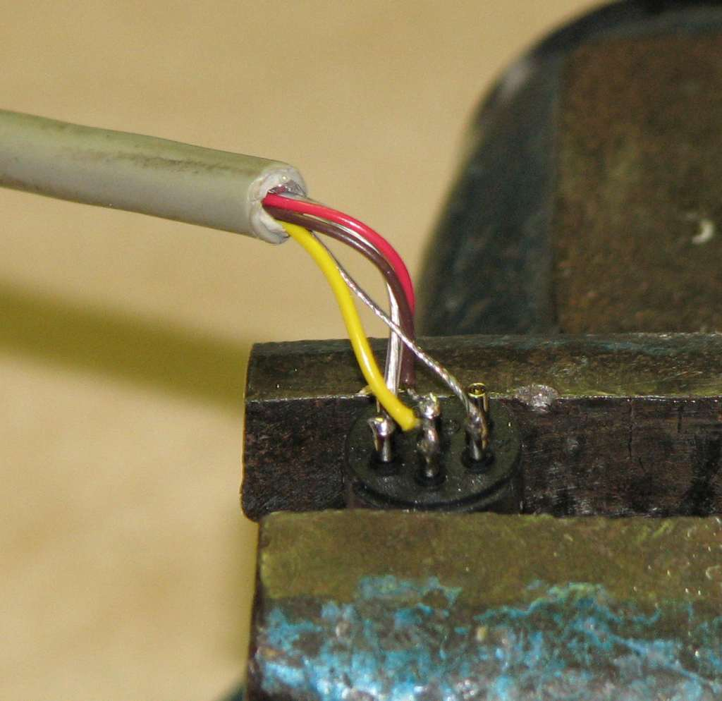 Building The X1541 Serial Cable Wiring Wires In Din6